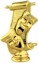 """TF404 - 4-1/2"""" Drama Mask Figure"""
