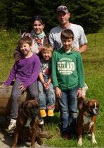 C'est la famille au Complet qui s'est rendu à Gryon