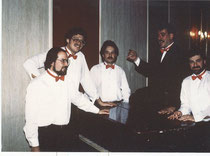 That's me on the far right in the Breezin Band (1980's)