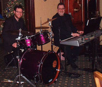 Bill Jr (Drums) & Billy Wray Sr (Keys) playing New Years @ The Outdoor Country Club York, PA.