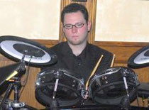 Bill Jr  at the Drums @ The Roosevelt Tavern York PA