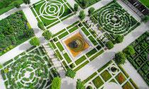 Jardin du château de Bournazel
