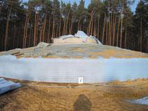 Windpark Biebersdorf - Fundament Nachbehandlung
