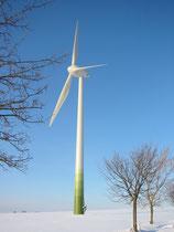 Windpark Bayerhöhe  -  Enercon E 66