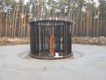 Windpark Biebersdorf - Fundament Bolzenkorb
