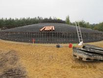 Windpark Biebersdorf - Fundament Bewehrung