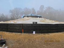 Windpark Biebersdorf - Fundament Schalung und Betonage