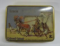 """2795/ Blechdose """"Crüvell's Brera"""" ~1930, L 11,5cm, EUR 20,-"""