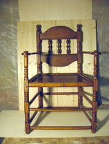 KT0022/ Armlehnstuhl ~1800, Buche, EUR 150,-