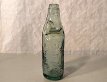 3925/ Tonicwater-Flasche ~ 1900, Aufschrift, H 22cm, EUR 26,-