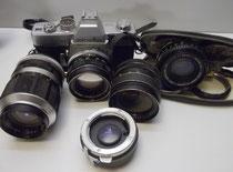 3574/Minolta-Ausrüstung ~1985, EUR 110,-