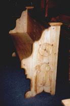 KT0018/Kirchenbank ~1800, Kiefer, EUR 750,-
