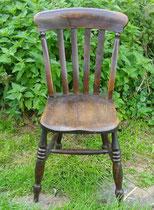 KT0384/ Kitchen Chair ~1910, Eiche, H 88, B 47, T 55, Sitzh. 46 cm, EUR 90,-