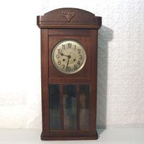 4068/ Regulator ~ 1910, Eiche, H 70, B 34, T 16cm, EUR 60,-