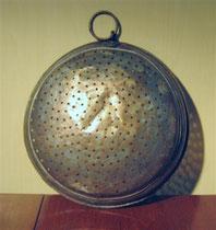 2641/ Marokk. Kupfersieb ~ 1850, Ø 35cm, EUR 55,-