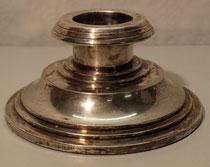 4054/ Kerzenleuchter ~1930, Silber, Marke, H 8, Ø 15,5cm, EUR 120,-