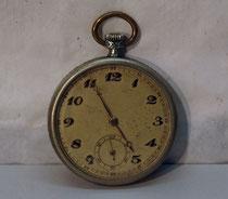 4159/ Herren-Taschenuhr ~1920, Silber, läuft, Ø 5cm, EUR 60,-
