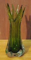 2205/ Kristallvase ~ 1960, H 27cm, EUR 25,-