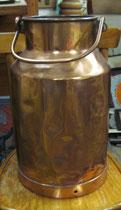 3134/ Milchkanne ~1900, Kupfer, H 60cm, EUR 50,-