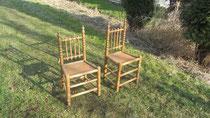 T0071/ Zwei Stühle ~1900, EUR 120,-
