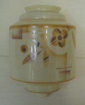 1950/ Deckenlampenschirm ~1920, H 25, Ø 18cm, EUR 75,-