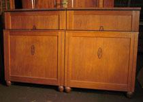 KT0098/ Doppelbett ~1900, Eiche, EUR 500,-
