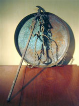 2639/ Marokk. Waage vor 1900, Ø 50cm, EUR 60,-