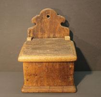 4202/ Wandkasten ~1750, Eiche, H 30, B 22 cm, EUR 98,-