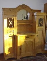 KT0398/ Turmbüffet ~ 1910, dänisch, Kiefer hell, zerlegbar, H 200, B 159, T 53cm, EUR 1900,-