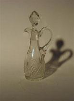 2982/ Kristallkaraffe ~ 1900, H 19cm, 40,-