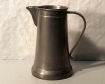 3830/ Wasserkanne ~1900, Zinn, Marke, H 19cm, EUR 44,-