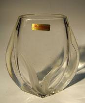"""2754/ Kristallvase """"Nachtmann"""" ~1960, H 20cm, EUR 30,-"""
