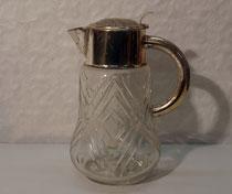 4070/ Saftkanne m. Kühlung,1963, Kegelclub,H 30cm, EUR 68,-