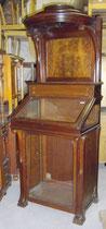 KT0306/Vitrinenschrank ~1900, Mahagoni, EUR 2000,-