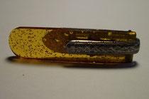 3256/ Krawattenspange ~1920, Kunsstoff+Eisen, EUR 30,-
