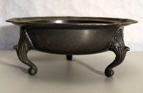 3690/ Zinnschale ~1850, 3 Beine, H 9,5, Ø 23,5cm, EUR 65,-