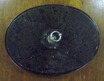 3203/ Wärmestein ~ 1900, Marmor, L 23cm, EUR 22,-