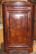 KT0058/Eckschrank ~1840, Mahagoni, EUR 500,-