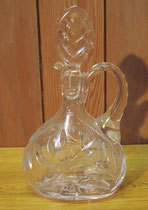 2206/ Kristallkaraffe ~ 1930, H 26cm, EUR 35,-