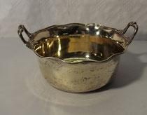 """3880/Silberschale vergoldet """"Robert Hennell"""" v. 1834, H9,5,Ø 17cm, 353 g, EUR 1200,-"""