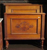 KT0089/ Doppelbett ~1880, Eiche, EUR 400,-