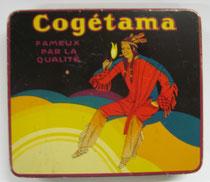 "2779/ Blechdose Cogetama"" ~1920, L 11,5cm, EUR 20,-"