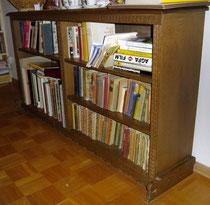 KT0289K/ Bücherregal ~1930, Eiche, EUR 580,-