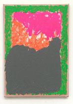 o. T., 2021 (Acryl auf Leinwand, 50 x 35 cm)
