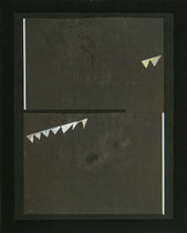 """""""Party"""", 2014 (Collage, Karton, Fotografie auf Karton, 50x40 cm)"""