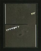 """""""Party"""", 2014 (Collage, Karton, Fotografie auf Karton, 50 x 40 cm)"""