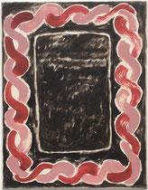 o. T., 2019 (Acryl auf Leinwand, 45 x 35cm)