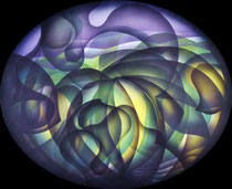 Purple sky Acrylic on canvas 50 x 60cm, 2020