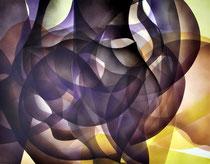 Universal connection Acrylic on canvas 70 x 90 cm, 2020