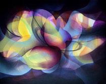 Light sensitivity Acrylic on canvas 50 x 60 cm, 2020